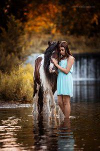 Voorbeeld fotoshoot met paard