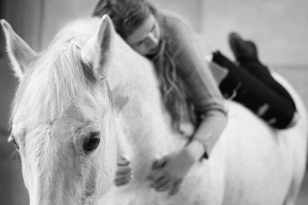 Afscheids fotoshoot paard - Fotoreportage Daisy & Miralda